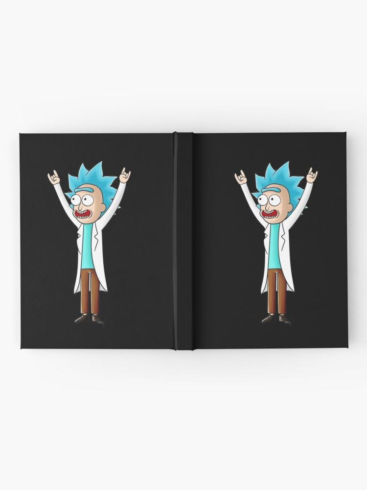 Alternate view of tiny rick Hardcover Journal