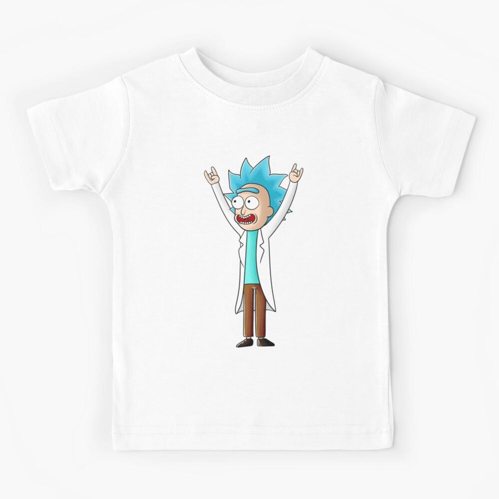 tiny rick Kids T-Shirt