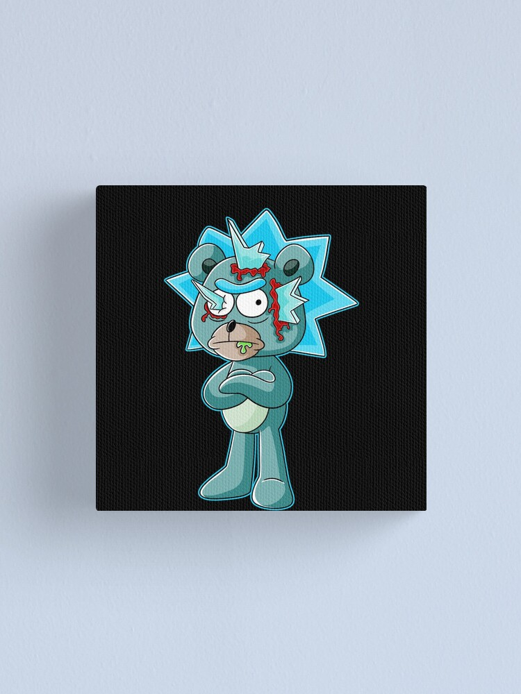 Alternate view of teddy rick Canvas Print