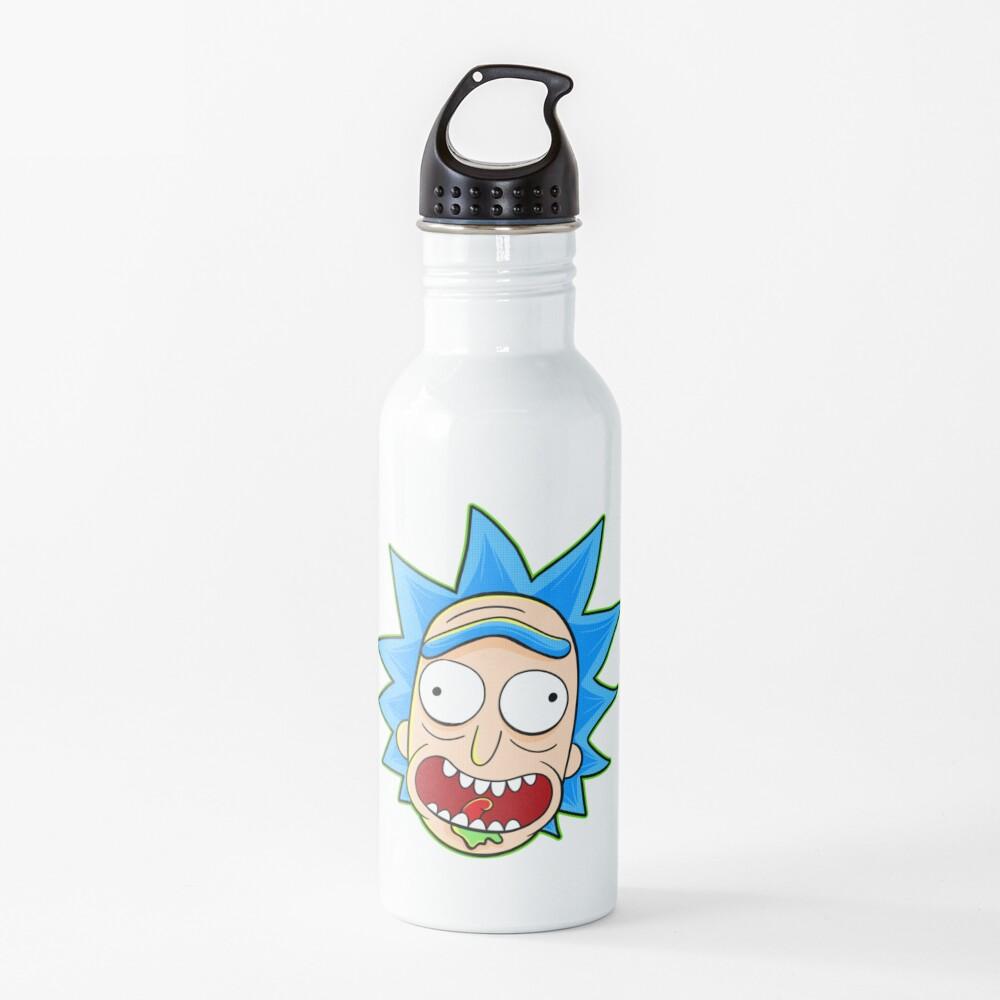 rick and morty rick sanchez Water Bottle