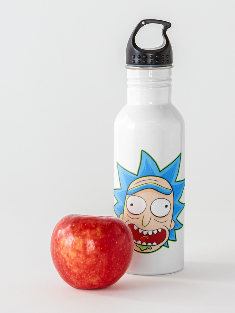 Alternate view of rick and morty rick sanchez Water Bottle
