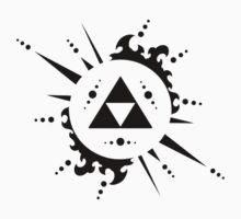 The legend of zelda Triforce, Black | Unisex T-Shirt