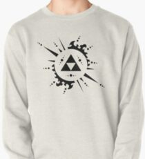 The legend of zelda Triforce, Black Pullover