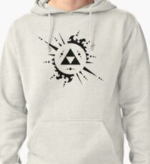 The legend of zelda Triforce, Black Pullover Hoodie