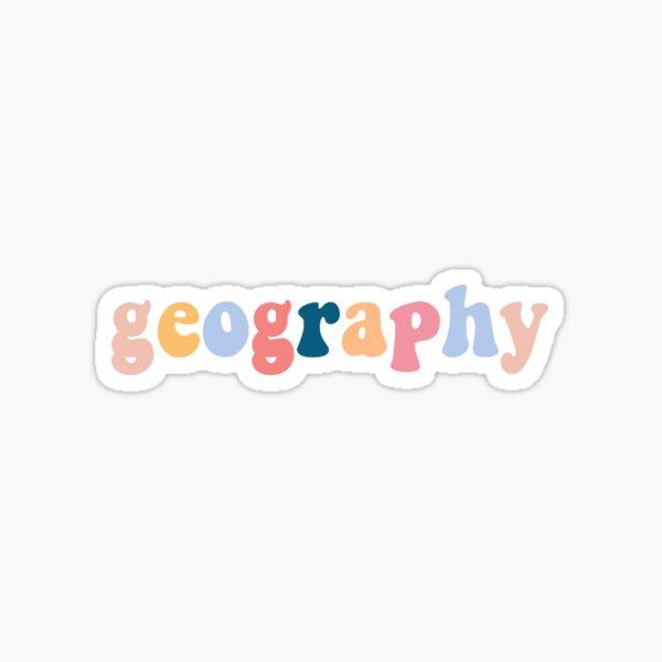 geography Sticker