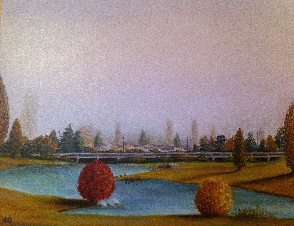 Autumn in Stanthorpe by Vickie O'Brien