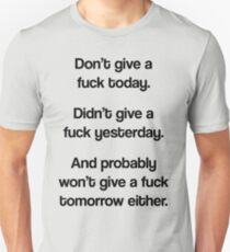 Just Don't Give A Fuck T-Shirt