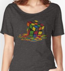 Rubix Cube - Melting Women's Relaxed Fit T-Shirt