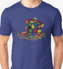 Rubix Cube - Melting Unisex T-Shirt