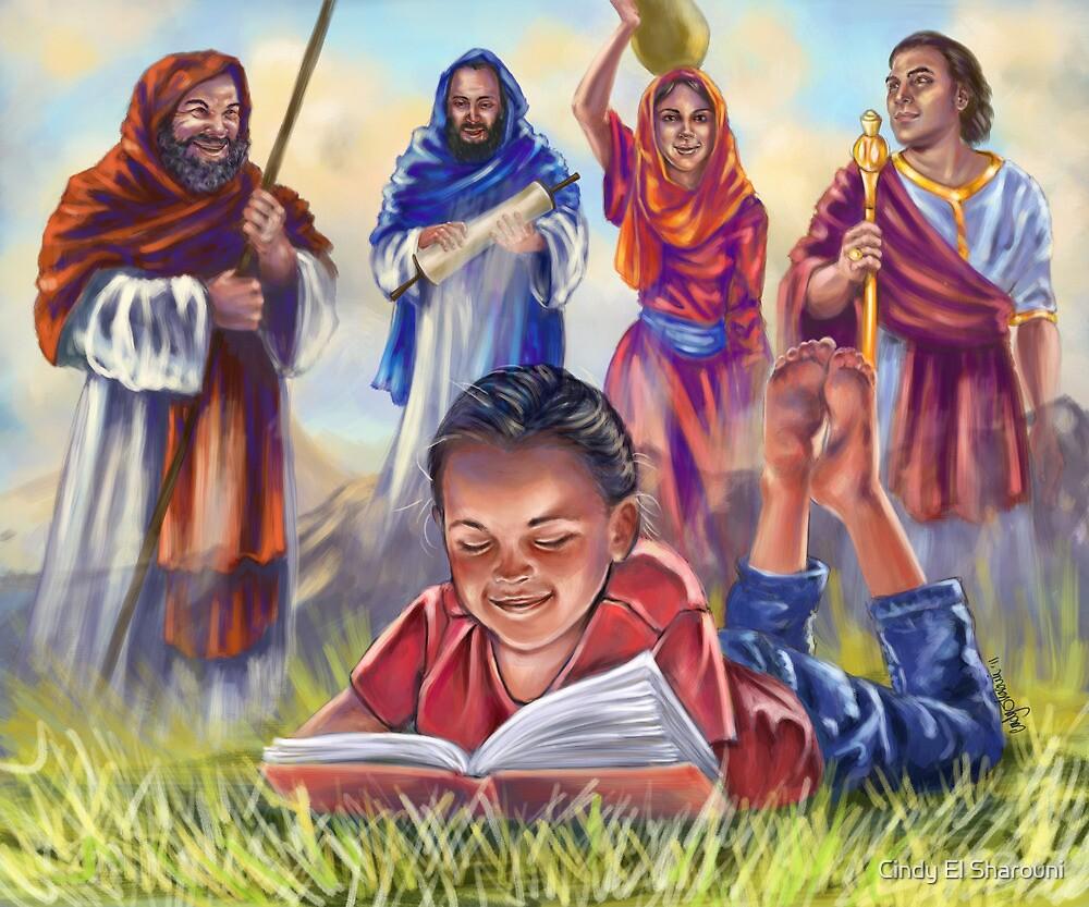 Living Bible by Cindy El Sharouni