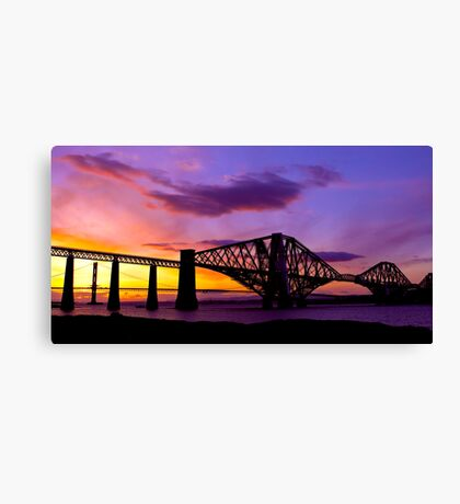 The Bridge at Dawn Canvas Print