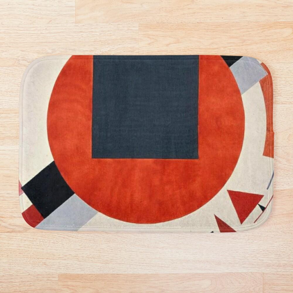 Lissitzky's Proun, ur,bathmat_flatlay_small,square,1000x1000