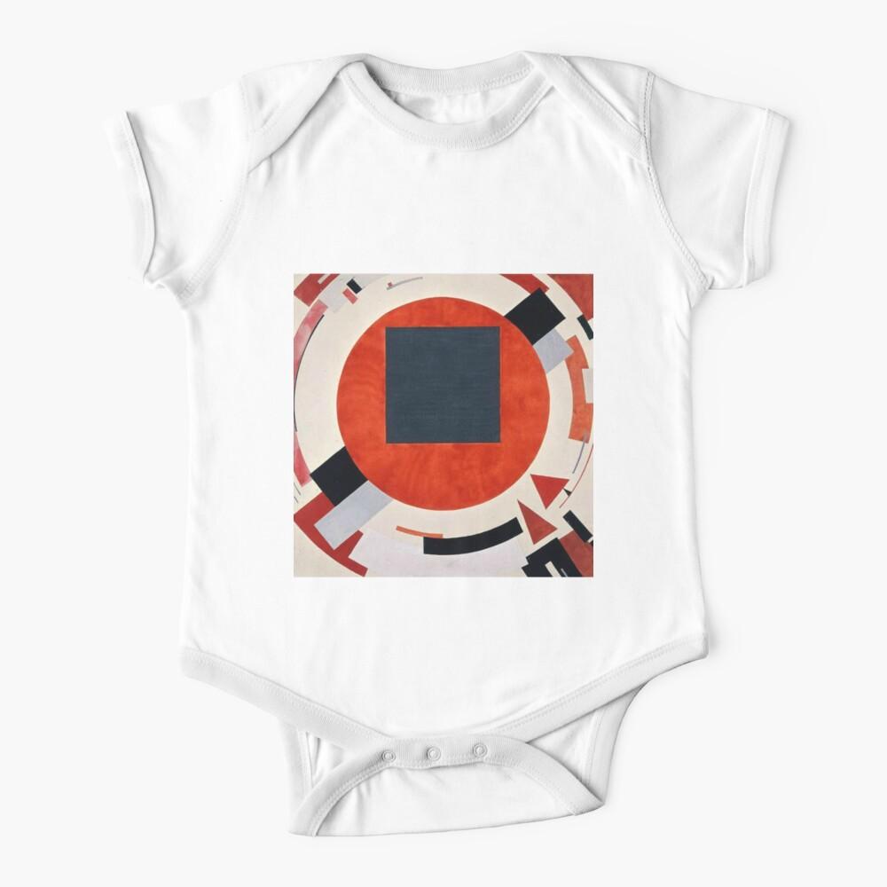 Lissitzky's Proun, ra,shortsleeve_one_piece,x1400,FFFFFF:97ab1c12de,front-c,200,220,1000,1000-bg,f8f8f8