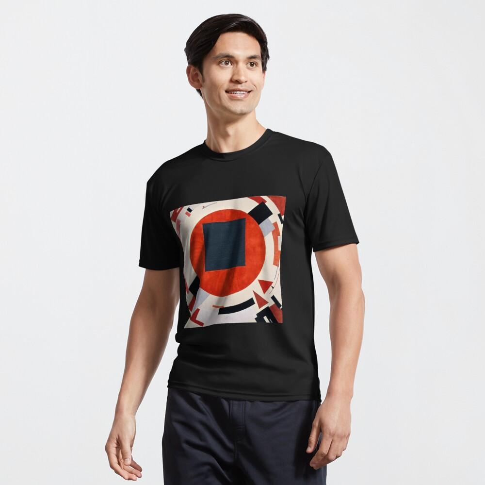 Lissitzky's Proun, ssrco,active_tshirt,mens,101010:01c5ca27c6,front,square_three_quarter,1000x1000
