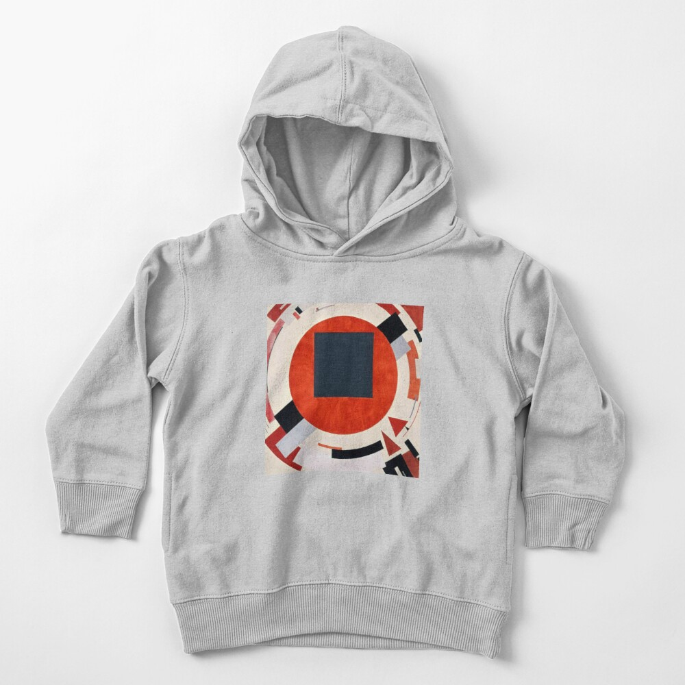 Lissitzky's Proun, ssrco,toddler_hoodie,youth,heather_grey,flatlay_front,square,1000x1000-bg,f8f8f8