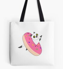 Donut Kitty Tote Bag