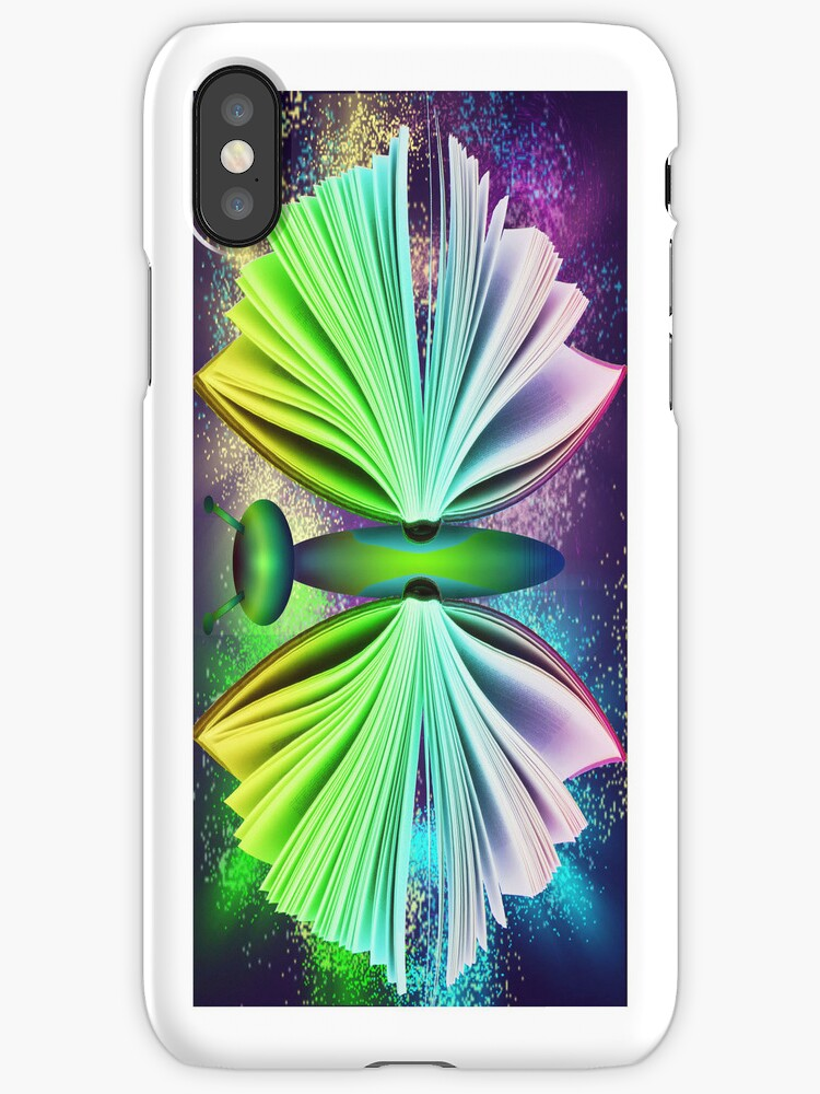 butterfly book iphone by tapiona