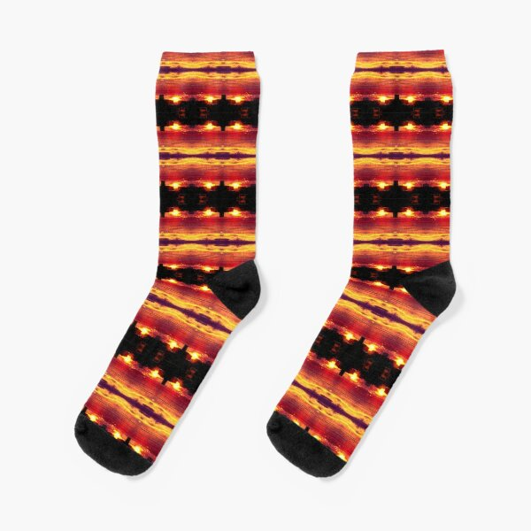 Quadruple sunset Socks