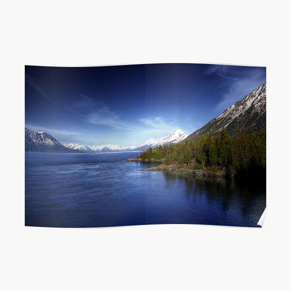Turnagain Arm in Summer Poster