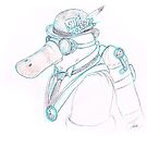 Steampunk Platypus by DrawingSaudade