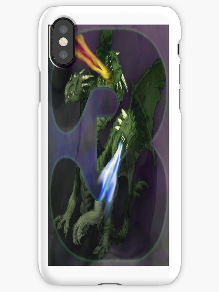 3 headed dragon case by tapiona