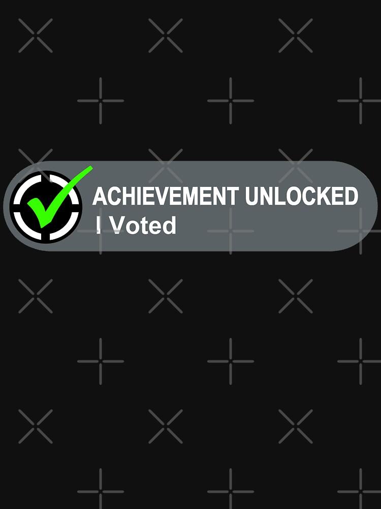 Achievement Unlocked I Voted by AngryMongo