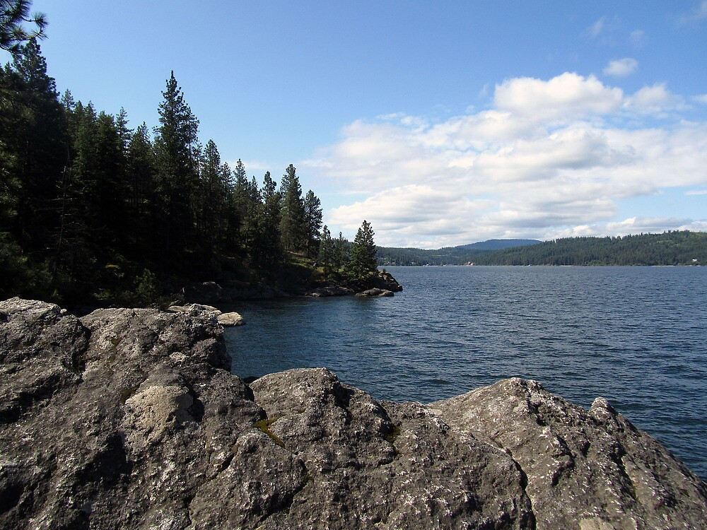 Lake Coeur d'Alene by Lynn Gedeon