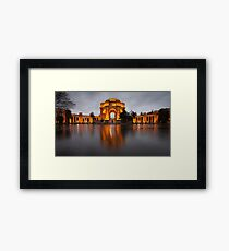 Palace of Fine Arts at Night Framed Print