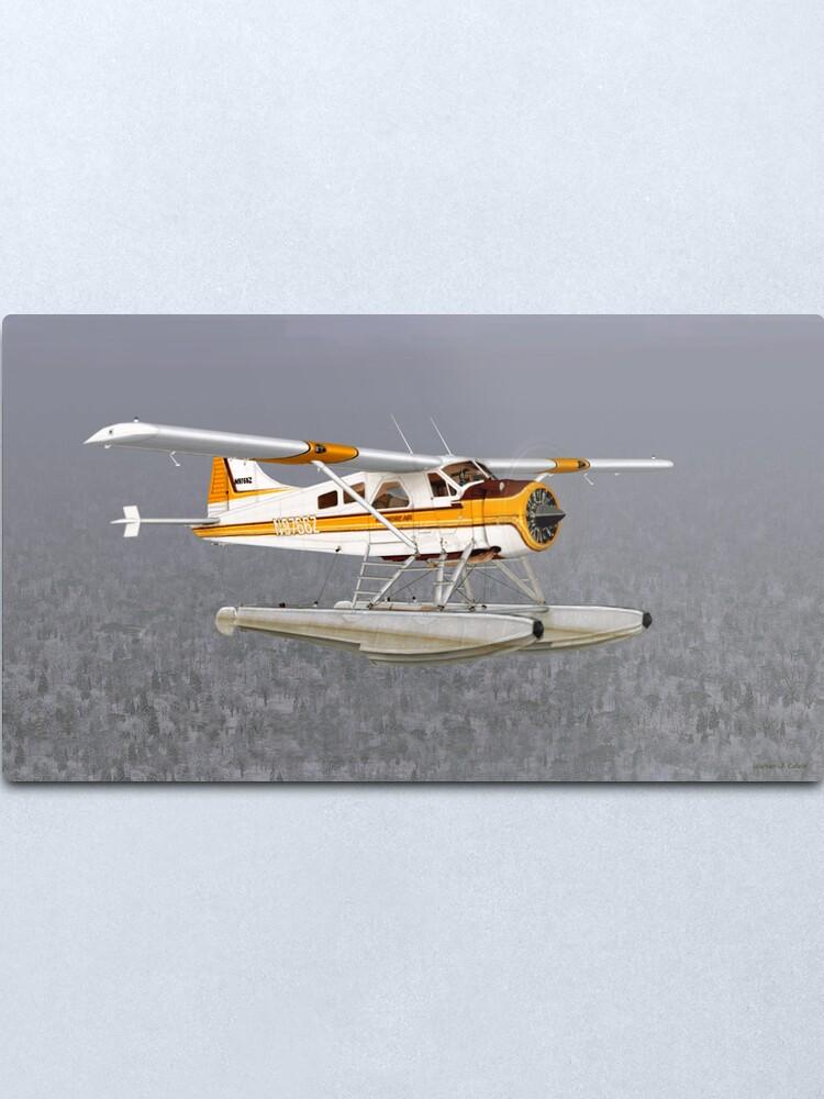 Alternate view of de Havilland Beaver DCH-2 Metal Print
