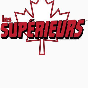 Les Supérieurs logo tee by watchguard