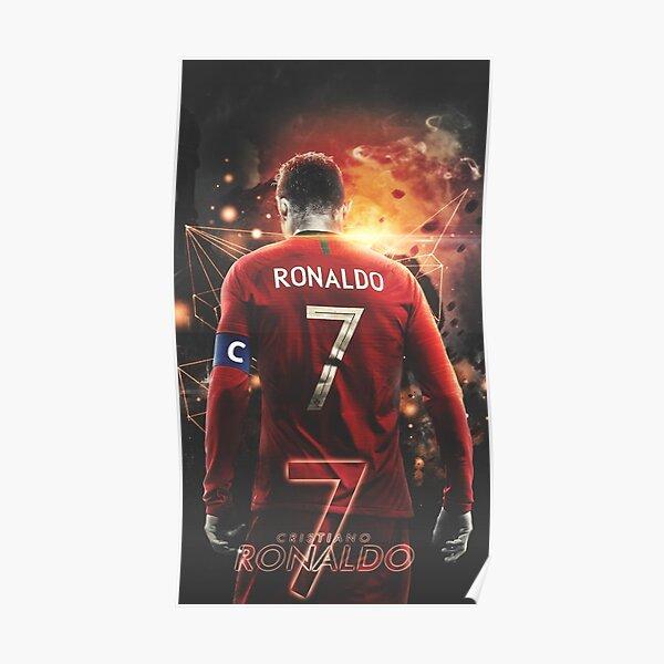 Cristiano Ronaldo Art Poster