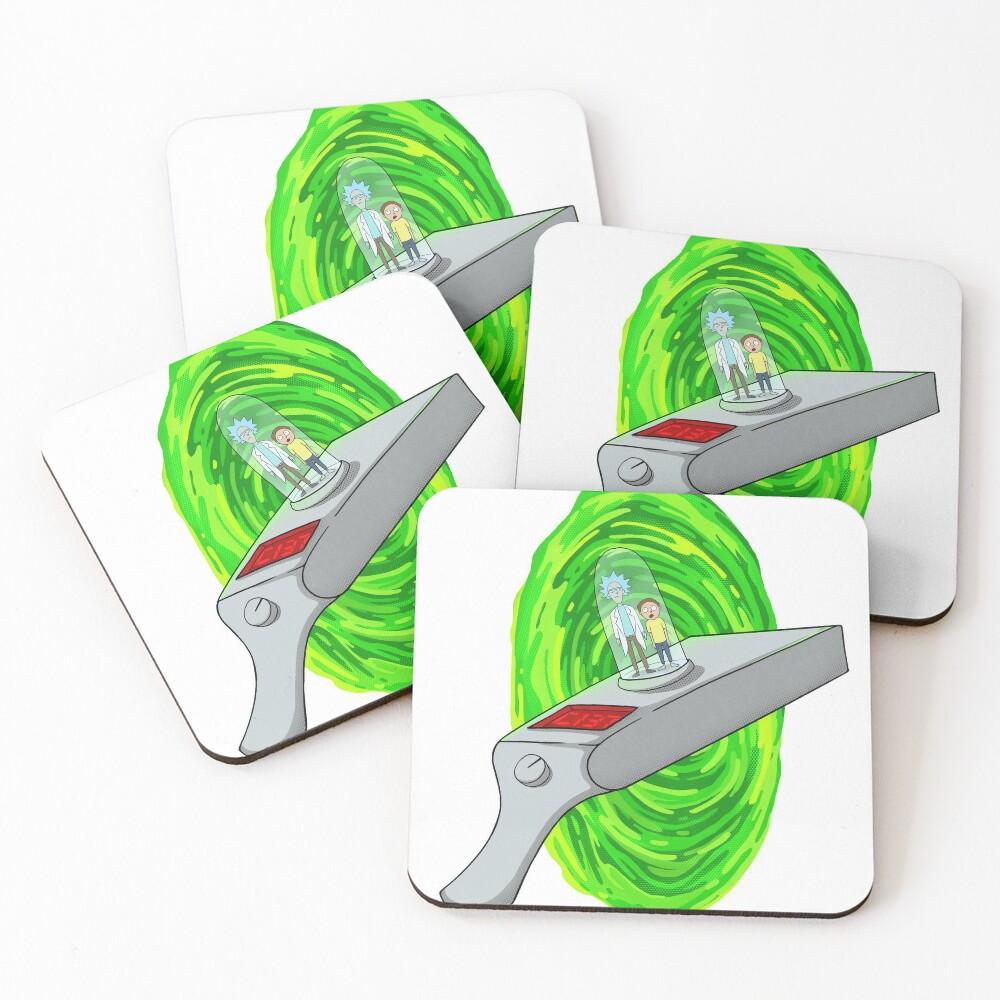 Portal Gun Coasters (Set of 4)