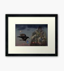 Crows Castle Framed Print
