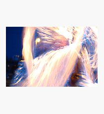 Dancing with the Living Flame Photographic Print