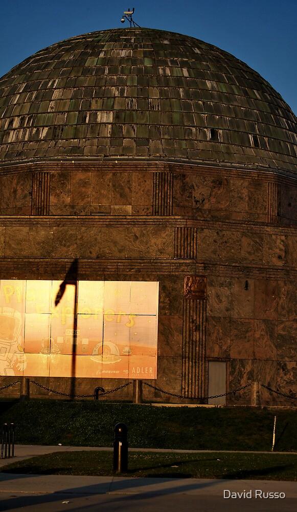 Adler planetarium by David Russo