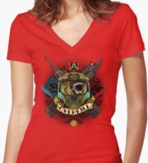 Overkill Women's Fitted V-Neck T-Shirt