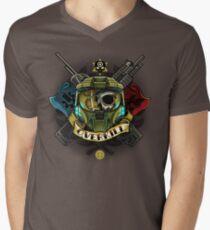 Overkill Mens V-Neck T-Shirt