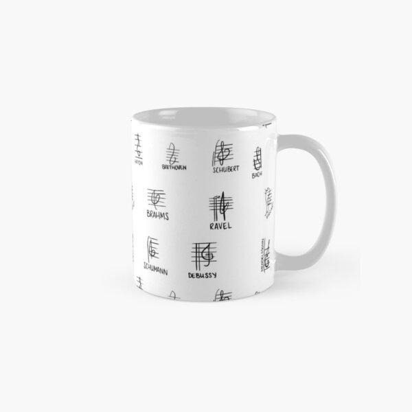 Composer Treble Clefs Classic Mug