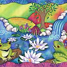 Frogs On Logs by Janet Broxon