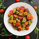 Chimichurri Potato & Tomato Salad by Kimberly Morales