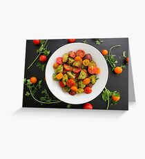 Chimichurri Potato & Tomato Salad Greeting Card