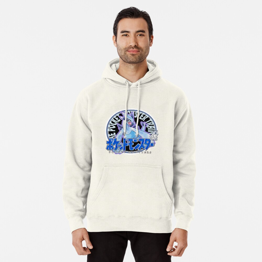 Pokemon Returns: Plata Sudadera con capucha