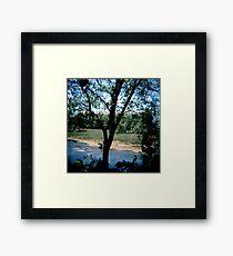 Midwest beach Framed Print