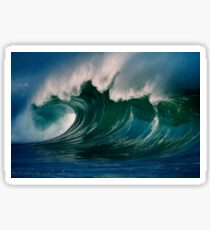 Winter Waves At Waimea Bay 2 Sticker
