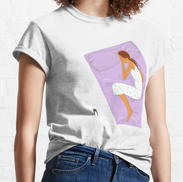 """Dormida"" Camiseta clásica"