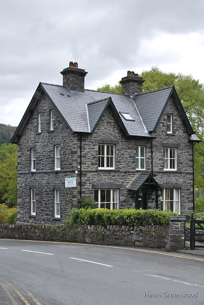 Betws - y - coed stone and slate home by Helen Greenwood