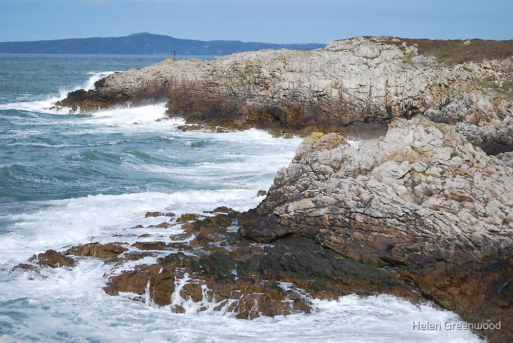 Holyhead Seascape by Helen Greenwood