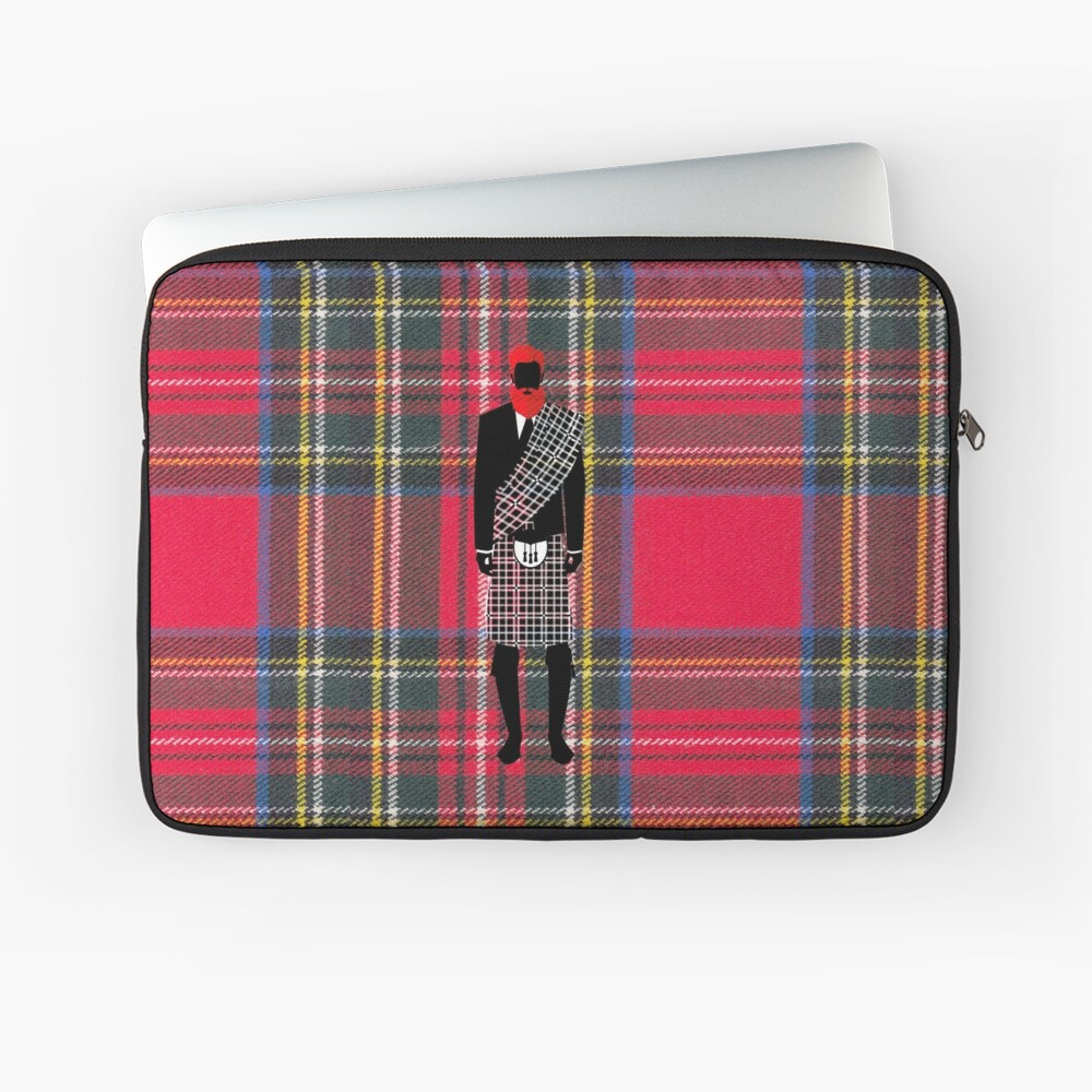 The Gentleman - Stewart Tartan Laptop Sleeve