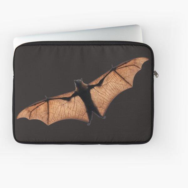Fruit Bat In Full Flight Laptop Sleeve