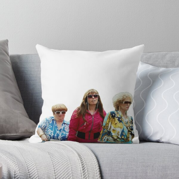 Kath and Kim: Kath, Kim & Sharon Throw Pillow